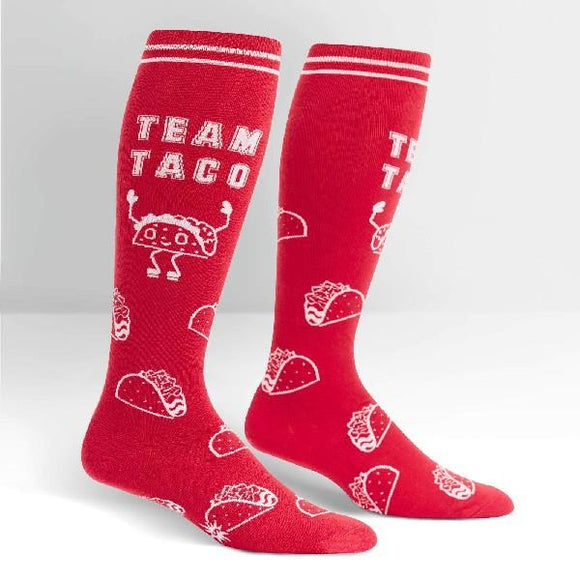 Sock It To Me Womens Knee High Sock Team Taco | Sneakers Plus