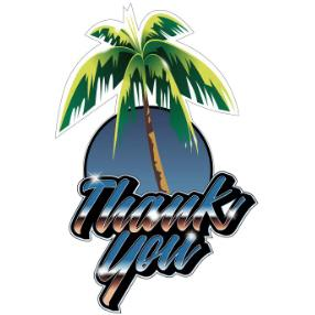 Thank You Sticker Cruizin | Sneakers Plus