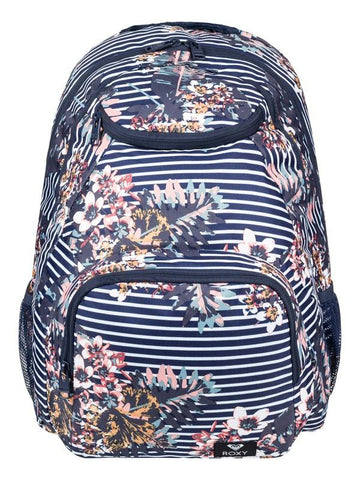 Roxy Shadow Swell 24L Medium Backpack Navy-Stripe | Sneakers Plus
