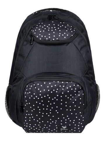Roxy Shadow Swell 24L Medium Backpack Black Dots | Sneakers Plus
