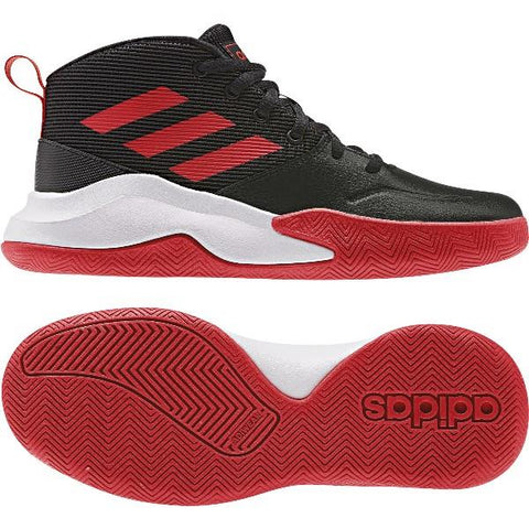 Adidas OwnTheGame Kids Wide Basketball Shoe - Sneakers Plus