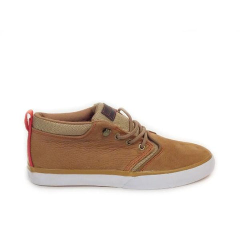 Quiksilver Griffin Mens Casual Shoe Tan |Sneakers Plus