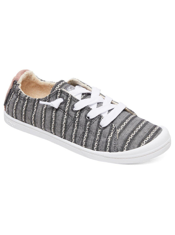 Roxy Bayshore lll Womens Casual Shoes Black Stripe | Sneakers Plus