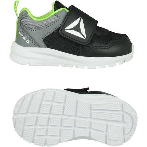 Reebok Almotio 4.0 2V Toddler Shoes Black-Green | Sneakers Plus