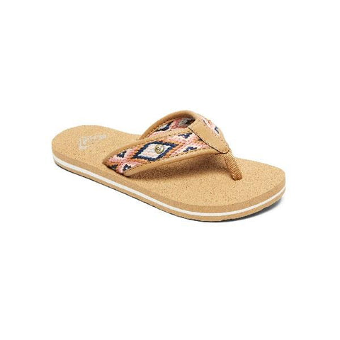 Roxy Girls Saylor Sandals Tan | Sneakers Plus