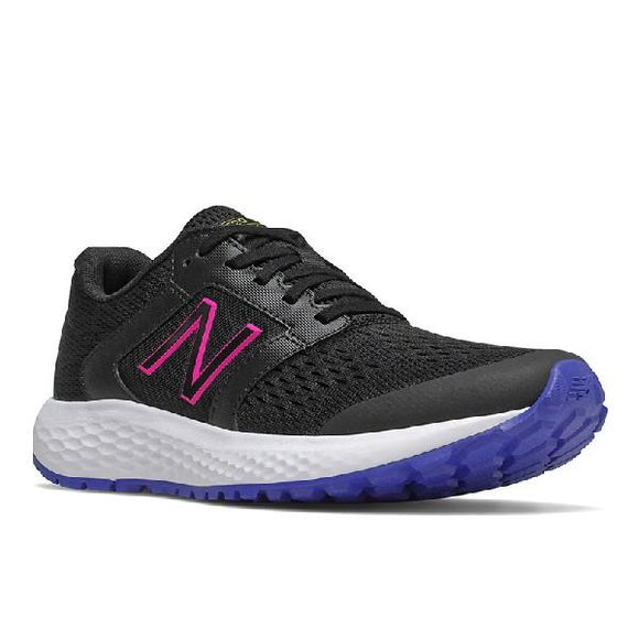 New Balance 520CP5 Womens Running Shoe Black-White-Pink | Sneakers Plus