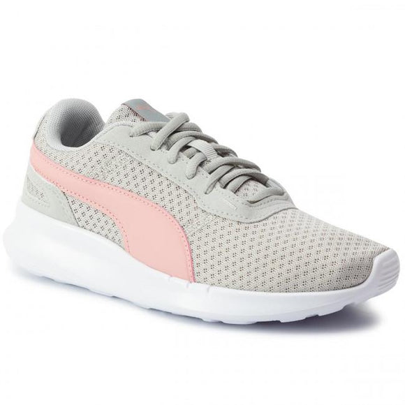 Puma ST Activate Jr Girls Running Shoes Grey-Rose | Sneakers Plus