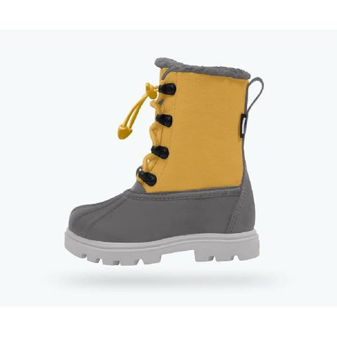 Native Jimmy 3.0 Treklite Child Boot Dublin Grey-Alpine Yellow | Sneakers Plus