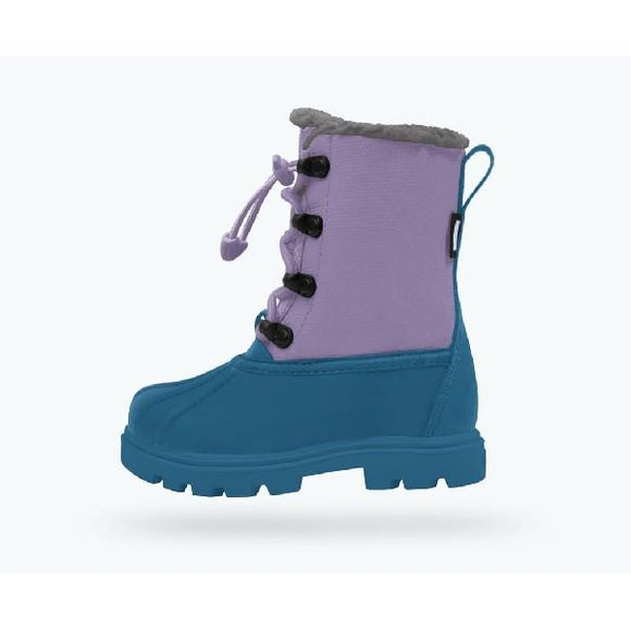 Native Jimmy Treklite 3.0 Child Boots Storm Blue-Thistle Purple | Sneakers Plus