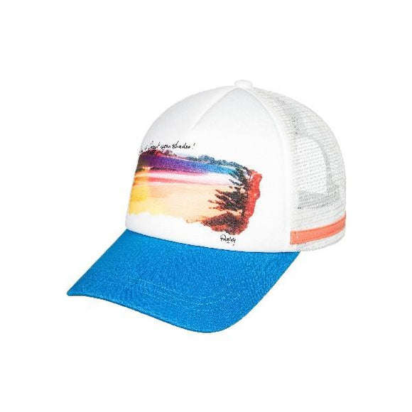 Roxy Dig This Trucker Hat Mykonos Blue | Sneakers Plus