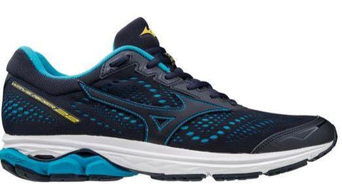 Mizuno Wave Rider 22 Mens Running Shoe Peacoat | Sneakers Plus