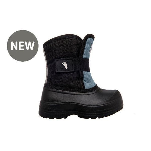 Stonz Scout Toddler Winter Boots Haze Blue-Black | Sneakers Plus