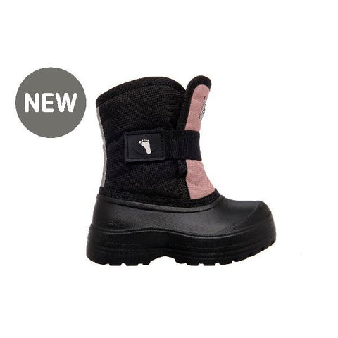 Stonz Scout Toddler Winter Boots Haze Pink-Black | Sneakers Plus