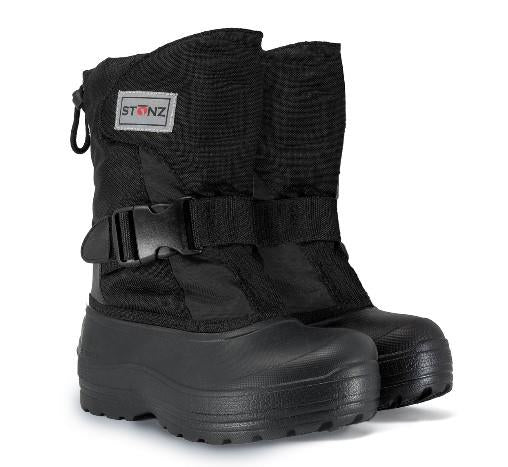Stonz Trek Kids Winter Boots Black | Sneakers Plus