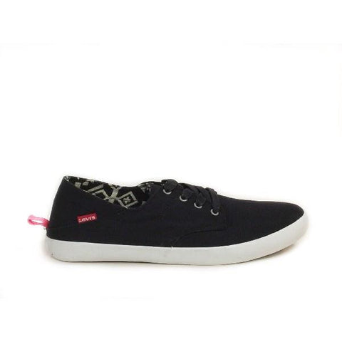 Levi's Sunset Lace Mens Casual Shoe Black |Sneakers Plus