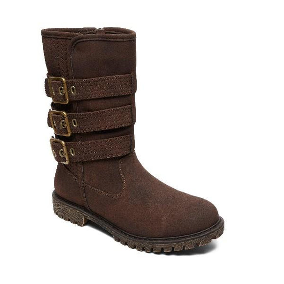 Roxy Bennett Womens Boots Chocolate | Sneakers Plus