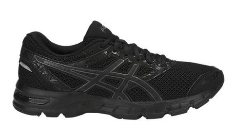 Asics Gel Excite 4 Mens Running Shoe Black-Black | Sneakers Plus