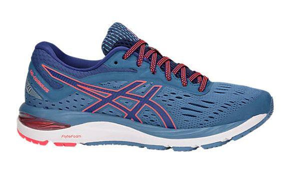 Asics Gel-Cumulus 20 (D) Womens Running Azure-Blue | Sneakers Plus