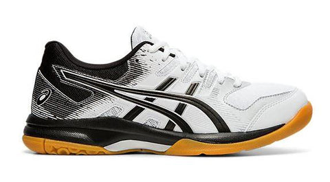 Asics Gel-Rocket 9 Womens Court Shoes White-Black | Sneakers Plus