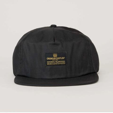 Crooks & Castles Headlines SB Mens Hat Black | Sneakers Plus