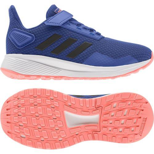 Adidas Duramo 9 Kids Running Shoes Blue-Peach | Sneakers Plus