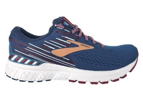 Brooks Adrenaline GTS 19 Womens Running Blue-Red-White | Sneakers Plus