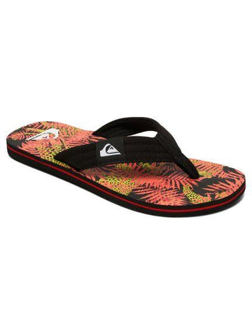 Quiksilver Molokai Layback Mens Sandal Red-Yellow | Sneakers Plus