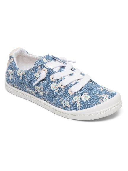 Roxy Bayshore IV Girls Casual Shoes Chambray | Sneakers Plus