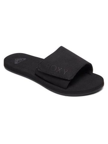 Roxy Bette Womens Slide Sandal Black | Sneakers Plus