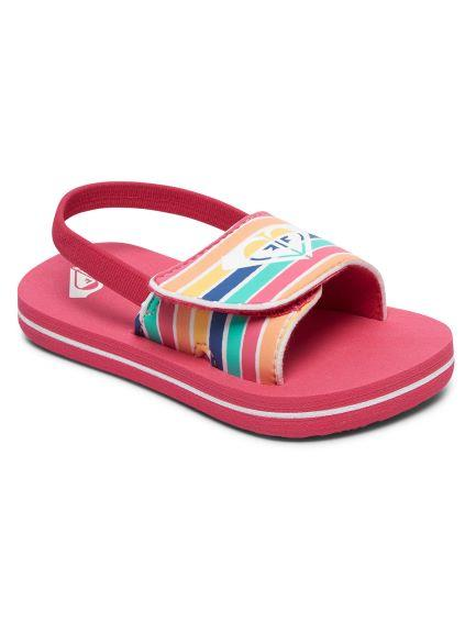 Roxy Toddler Finn Sandals Multi Color | Sneakers Plus