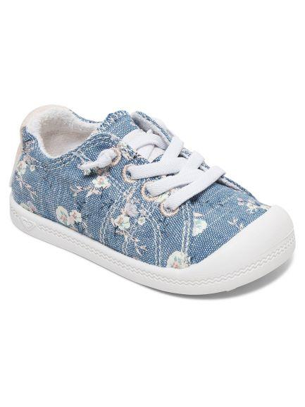 Roxy Bayshore Toddler Shoe Chambray | Sneakers Plus