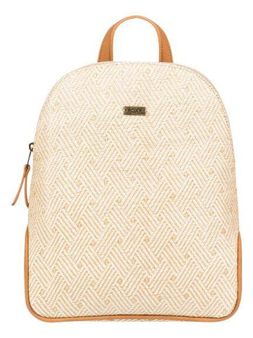Roxy Small 8L Straw Backpack Natural | Sneakers Plus