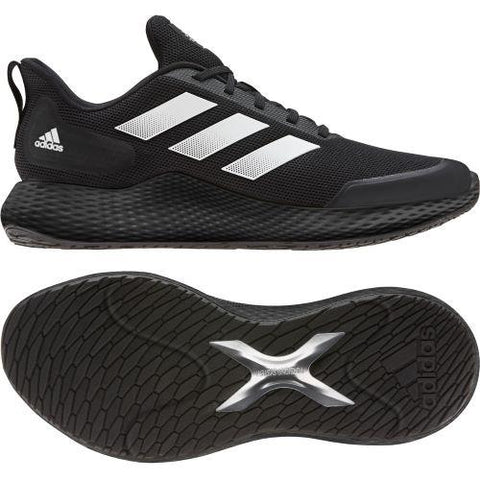 Adidas Edge Gameday Mens Running Shoe Black-Black | Sneakers Plus