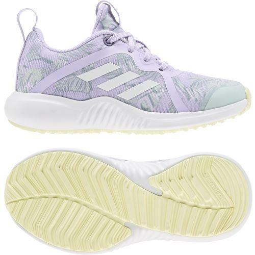 Adidas FortaRun X Girls Running Shoe Purple-Green | Sneakers Plus