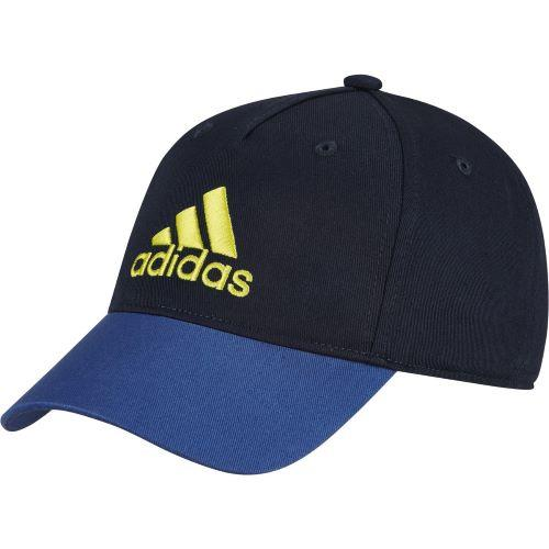 Adidas Boys Graphic Cap Navy-Yellow | Sneakers Plus