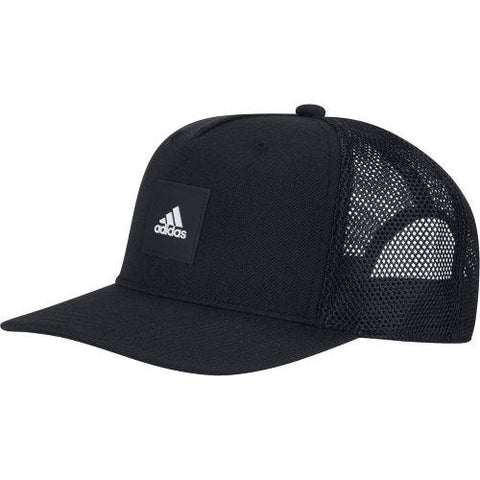 Adidas Snap Back Trucker Cap Mens Hat Black | Sneakers Plus