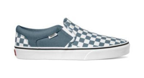 Vans Asher Mens Slip On Shoes Blue | Sneakers Plus