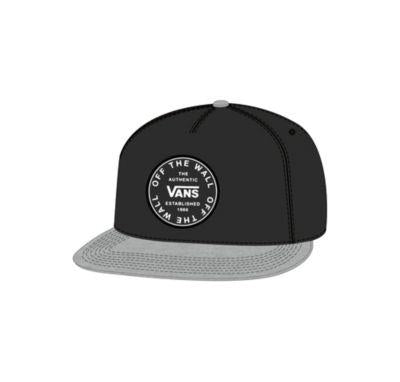 Vans Old Skool Circle Mens Hat Black-Heather | Sneakers Plus
