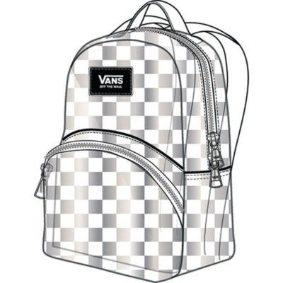 Vans Gettin It Mini Backpack Clear | Sneakers Plus