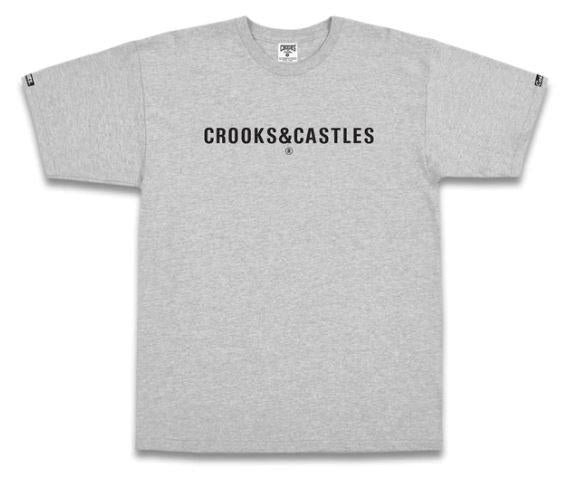 Crooks&Castles Illuminate SS Mens Tee Grey | Sneakers Plus