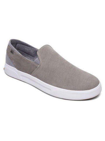 Quiksilver SurfCheck Prem Mens Slip On Grey | Sneakers Plus