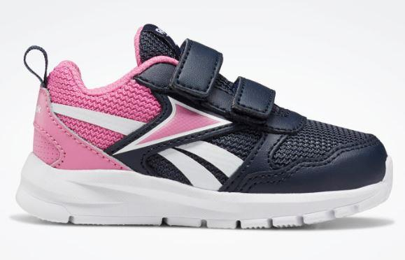 Reebok Almotio 5.0 2V Toddler Girl Shoe Navy-Pink | Sneakers Plus
