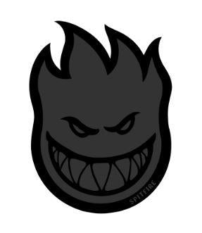 Spitfire Bighead BlackOut Sticker | Sneakers Plus