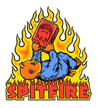 Spitfire DemonSeed Sticker | Sneakers Plus