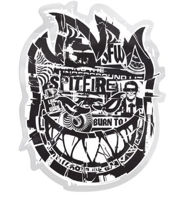Spitfire Ransom Bighead Sticker | Sneakers Plus