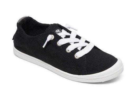 Roxy Bayshore III Womens Casual Shoes Black-White | Sneakers Plus