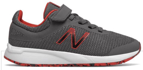 New Balance 455v2 Boys Running Shoe Magnet-Red | Sneakers Plus