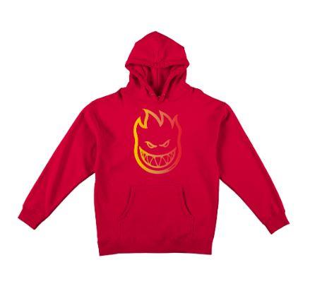Spitfire Bighead OG Mens Hoodie Red | Sneakers Plus