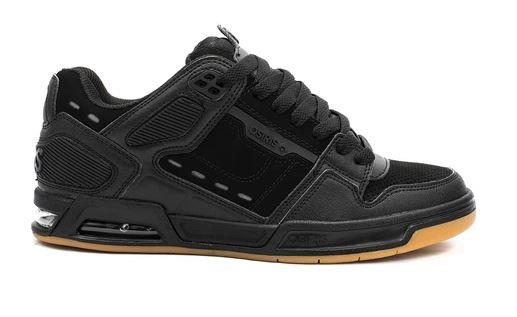 Osiris Peril Mens Skate Shoes Black-Gum | Sneakers Plus