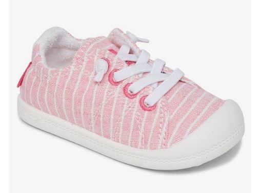Roxy Bayshore lll Toddler Casual Shoes  Hot Pink | Sneakers Plus